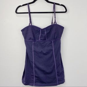 Lululemon studio dance tank top in dark purple